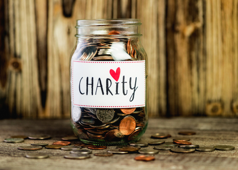 Use your credit card and feel good for charity