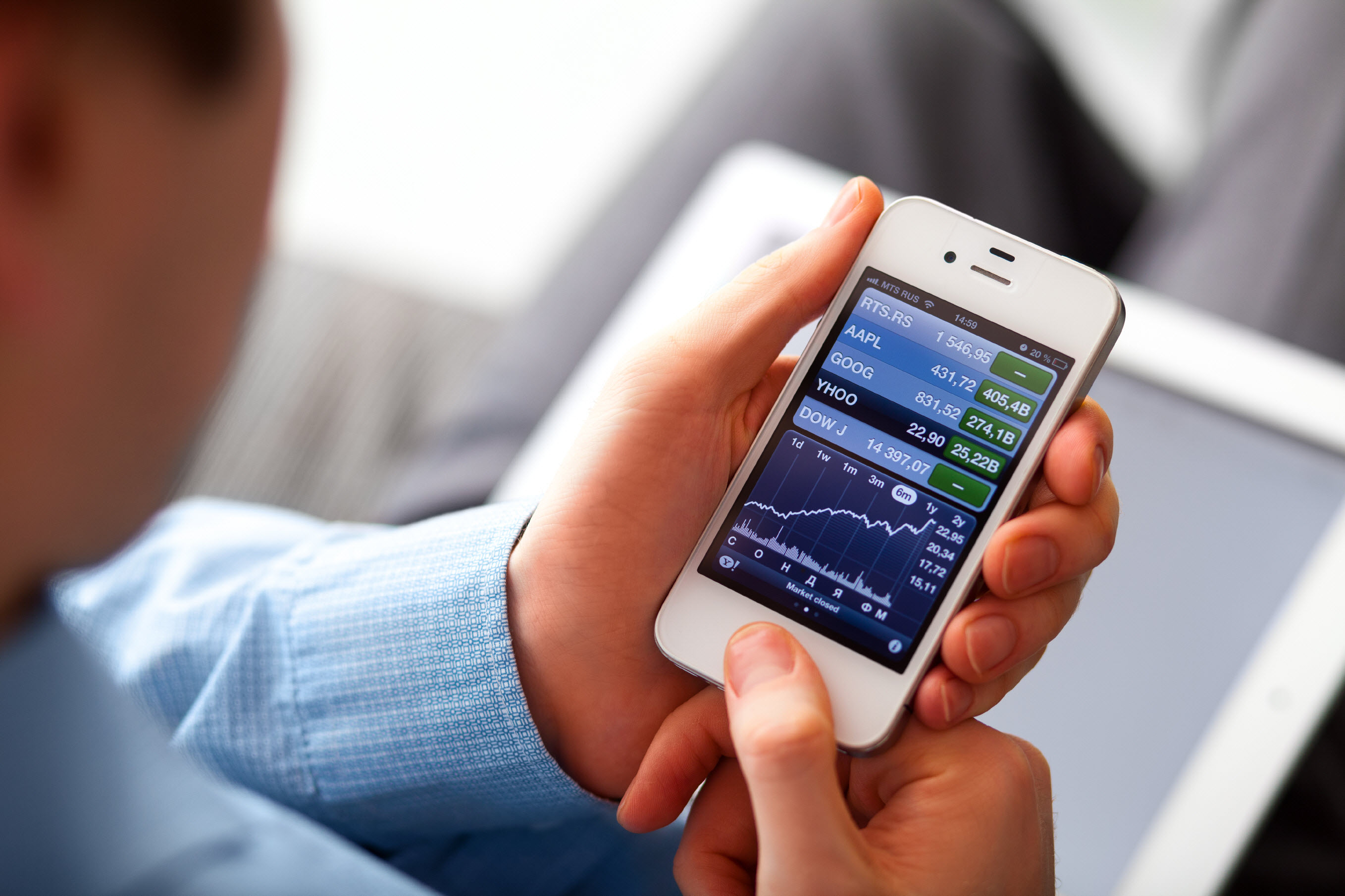 Aussie investment traders embrace mobile technology