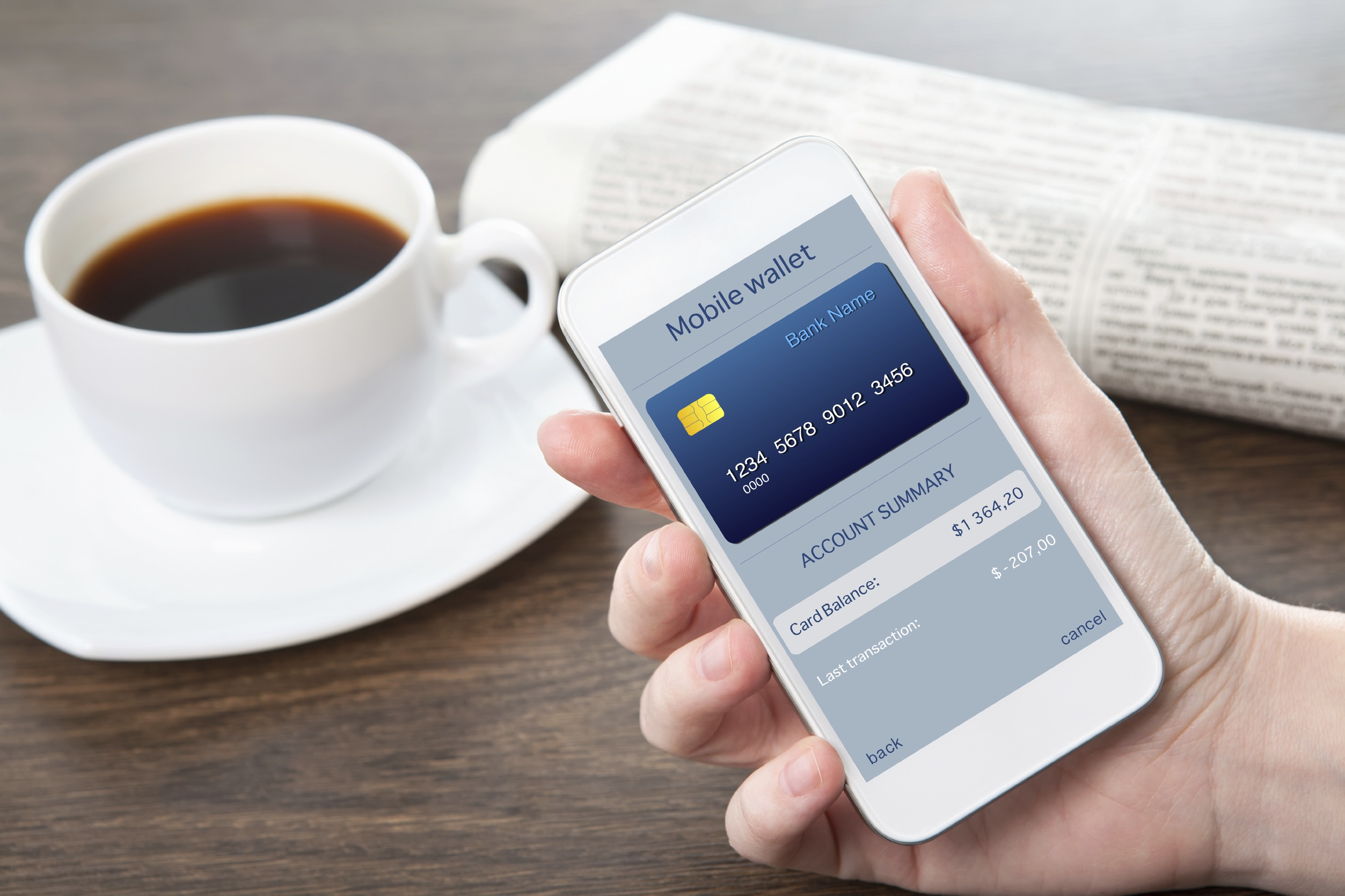 The rise of mobile shopping: credit card payments leading the way
