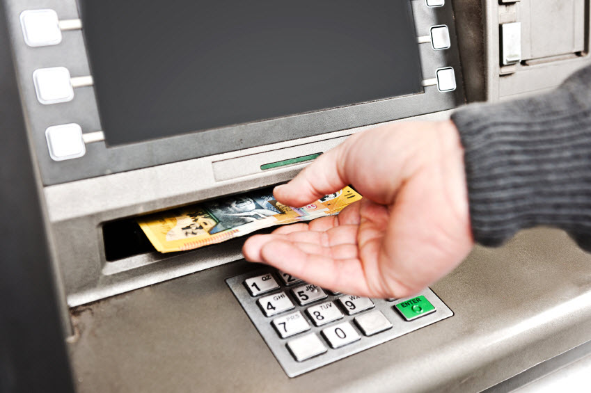 ATM fees on credit cards and transaction accounts bite